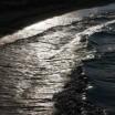 Brandung im Gegenlicht Achterwasser 5