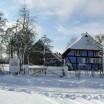 Blauer Katen im Winter 1