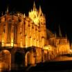 Erfurter Dom bei Nacht 2