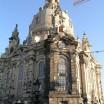 Die Frauenkirche in Dresden mit Altteil 1