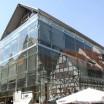 Glashaus mit Spiegelung  in Erfurt 1