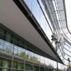 Gebäudefront mit Flucht in Düsseldorf 1