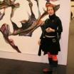 Begegnung auf der Kunstmesse in Köln 1