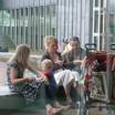 Blick aus dem Kunstcafé in Köln 1