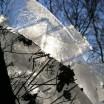 Eisüberlagerung im Sonnenlicht 1