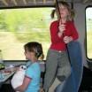 Häschen im Zug