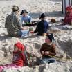 Kleine Seeräuber am Strand 1
