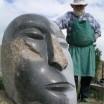Peter Makolies mit Großer Kopf in Liepe 1