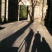Schatten in Paulinzella 2