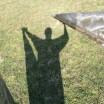 Schatten mit Metallecken in Katzow 1